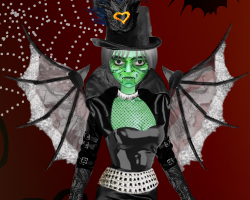 Green Witch Dress-up