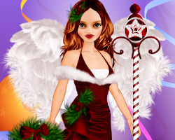 Emily Browning Christmas Dressup