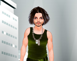 Johnny Depp Dressup